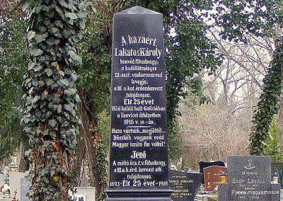 Komárom - Révkomárom I. világháborús katonasíremlék református temető 2012.12.02. küldő-Méri (1)
