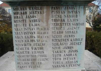 Komárom világháborús emlékmű 2008.10.30.küldő-Huszár Peti (6)