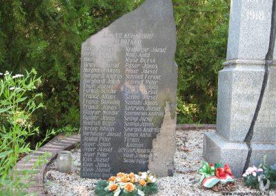 Kompolt világháborús emlékmű 2007.06.12. Küldő-kalyhas (3)