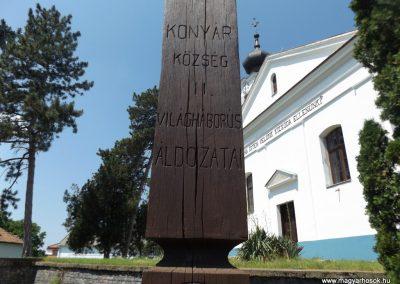 Konyár I. és II. világháborús emlékmű 2018.05.28. küldő-Bóta Sándor (13)