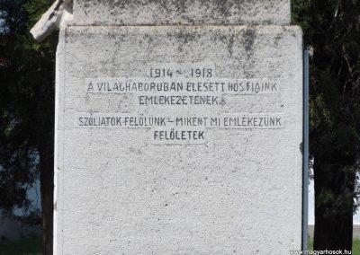 Konyár I. és II. világháborús emlékmű 2018.05.28. küldő-Bóta Sándor (2)