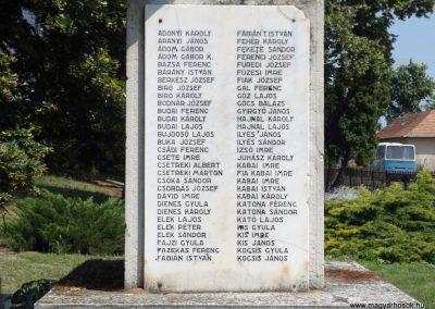 Konyár I. és II. világháborús emlékmű 2018.05.28. küldő-Bóta Sándor (9)