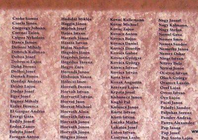 Korzika,Assináriai fogolytábor I.világháborús emléktábla 2017.05.19. küldő-Bagoly András (3)