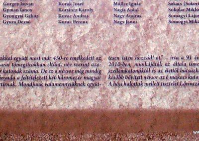 Korzika,Assináriai fogolytábor I.világháborús emléktábla 2017.05.19. küldő-Bagoly András (6)