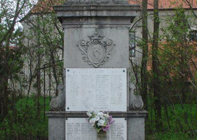 Kosd világháborús emlékmű 2009.04.08. küldő-Pfaff László, Rétság