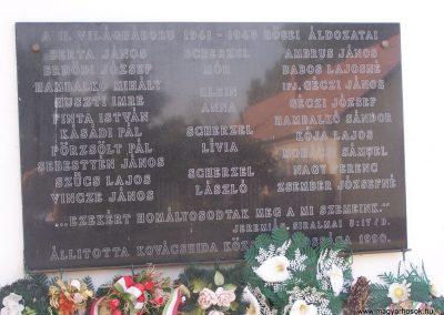 Kovácshida II.vh emléktábla 2009.05.23. küldő-Horváth Zsolt (1)