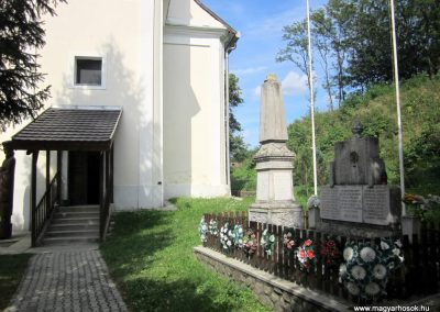Kovácsvágás világháborús emlékművek 2012.08.18. küldő-kalyhas