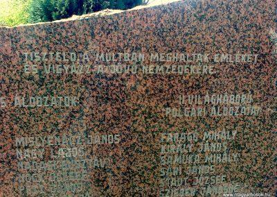 Kozármisleny világháborús emlékmű 2012.04.05. küldő-Turul 68 (4)
