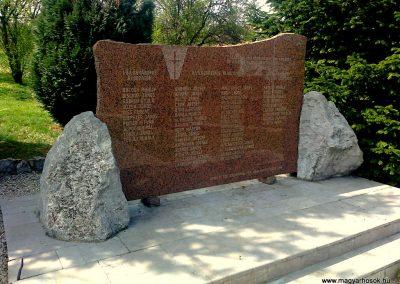 Kozármisleny világháborús emlékmű 2012.04.05. küldő-Turul 68