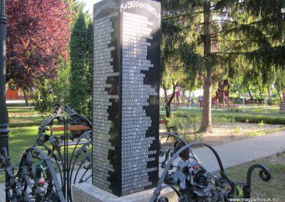 Kunbaja II.vh emlékmű 2011.08.17. küldő-kalyhas (8)