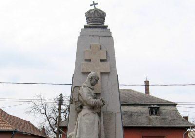 Lőrinci I.vh emlékmű 2009.03.27. küldő-kalyhas (2)