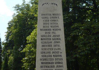 Lajoskomárom világháborús emlékmű 2009.07.26.külő-Ágca (10)