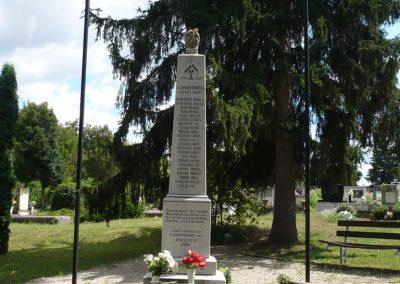 Lajoskomárom világháborús emlékmű 2009.07.26.külő-Ágca