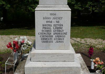 Lajoskomárom világháborús emlékmű 2009.07.26.külő-Ágca (5)