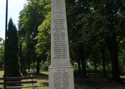 Lajoskomárom világháborús emlékmű 2009.07.26.külő-Ágca (9)