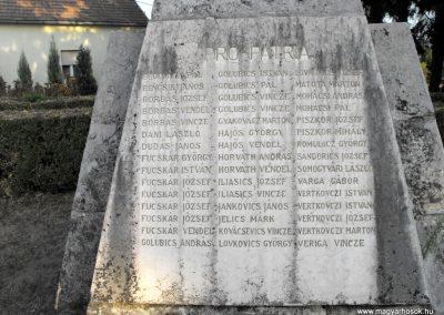 Lakócsa I. világháborús emlékmű 2012.08.01. küldő-KRySZ (3)