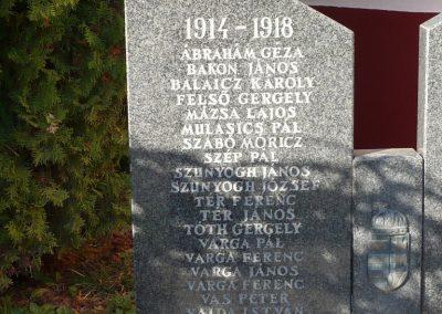 Lendvajakabfa világháborús emlékmű 2009.11.17. küldő-Sümec (1)