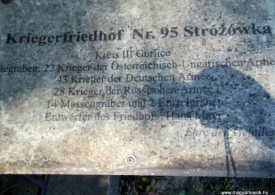 Lengyelország - Strozówka I. világháborús temető 2016.07.22. küldő-Gyurkusz (2)