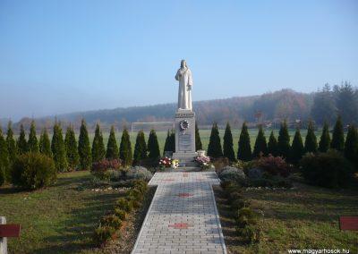 Lenti-Bárszentmihályfa (Kerkaszentmihályfa) világháborús emlékmű 2009.11.17. küldő-Sümec