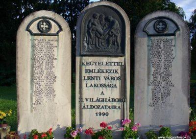 Lenti II.vh emlékmű 2008.07.17.küldő-HunMi (1)