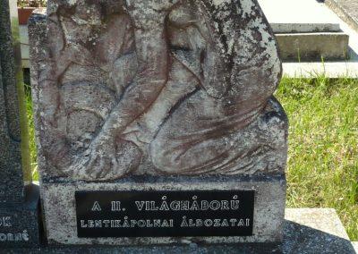 Lenti- Lentikápolna világháborús emlékmű 2012.05.09. küldő-Sümec (13)