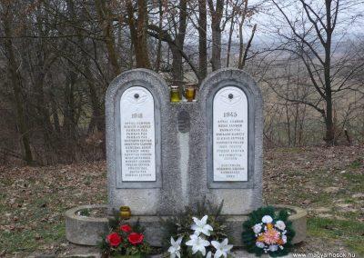 Lenti-Máhomfa világháborús emlékmű 2009.02.12.küldő-Sümec (1)