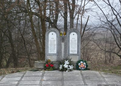 Lenti-Máhomfa világháborús emlékmű 2009.02.12.küldő-Sümec