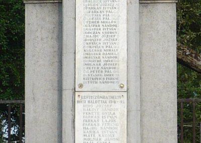Lentiszombathely világháborús emlékmű 2009.05.23.küldő-Sümec (1)