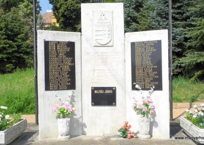 Lesencetomaj világháborús emlékmű 2013.07.05. küldő-Méri (3)