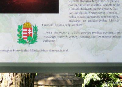Limanowa - Jabloniec-domb katonatemető I. világháborús emlékművek és katonasírok 2016.07.21. küldő-Gyurkusz (10)