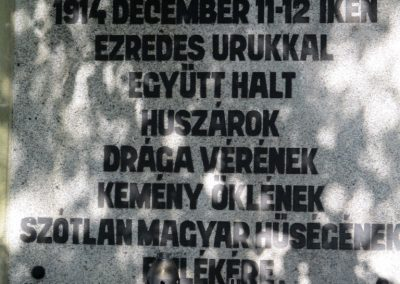 Limanowa - Jabloniec-domb katonatemető I. világháborús emlékművek és katonasírok 2016.07.21. küldő-Gyurkusz (4)