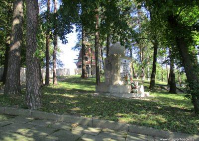Limanowa - Jabloniec-domb katonatemető I. világháborús emlékművek és katonasírok 2016.07.21. küldő-Gyurkusz