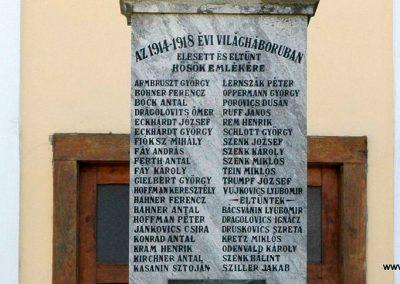 Lippó világháborús emlékmű 2019.03.04. küldő-Dr.Lázár Gyula Levente (2)