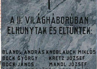 Lippó világháborús emlékmű 2019.03.04. küldő-Dr.Lázár Gyula Levente (4)