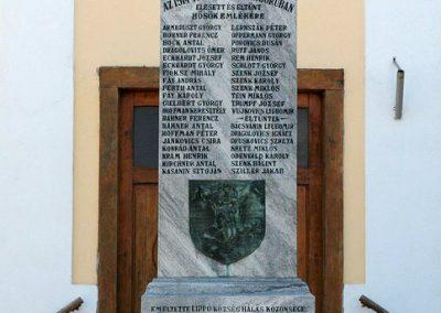 Lippó világháborús emlékmű 2019.03.04. küldő-Dr.Lázár Gyula Levente