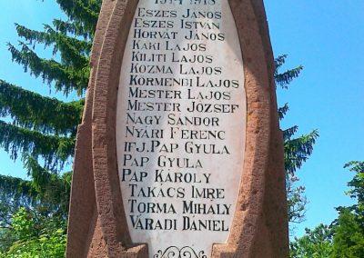 Litér világháborús emlékmű 2011.05.26. küldő-Csiszár Lehel (3)
