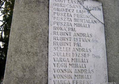 Ludányhalászi--Nógrádludány világháborús emlékmű 2010.10.16. küldő-Mónika39 (6)