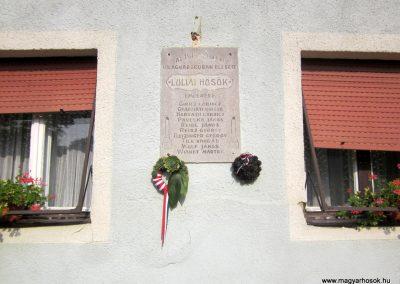 Lulla I. világháborús emléktábla 2013.08.23. küldő-kalyhas (1)