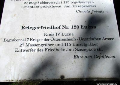 Luzna - Prodbrzezie I. világháborús temető 2016.07.22. küldő-Gyurkusz (3)