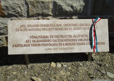 Luzna - Pustki domb I. világháborús temető 2016.07.22. küldő-Gyurkusz (15)
