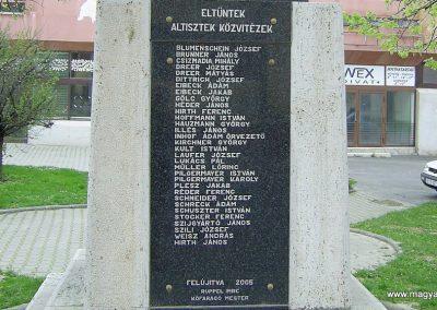 Mágocs I.vh emlékmű 2006.02.21. küldő-Horváth Zsolt (3)