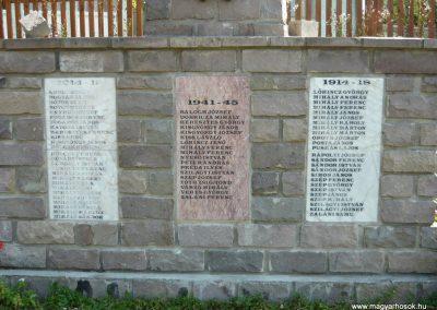 Málnás világháborús emlékmű 2009.08.21.küldő-Ágca (2)