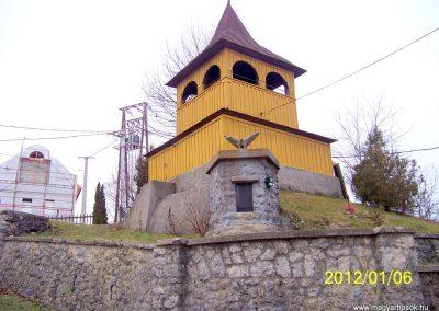 Mályinka I. világháborús emlékmű 2012.01.06. küldő-Pataki Tamás
