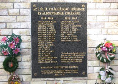 Mályinka világháborús emlékmű 2008.02.18. küldő-Kályhás (2)