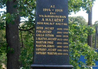 Mánfa világháborús emlékmű 2012.05.17. küldő-Bagoly András (3)