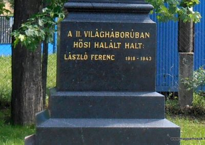 Mánfa világháborús emlékmű 2012.05.17. küldő-Bagoly András (4)