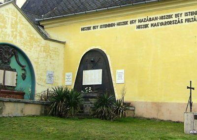Máriakéménd világháborús emlékmű 2011.03.21. küldő-Bagoly András