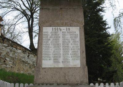 Mátraballa világháborús emlékmű 2008.04.22. küldő-kalyhas (2)