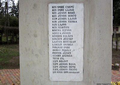 Mátraderecske világháborús emlékmű felújítás után 2014.12.09. küldő-kalyhas (19)