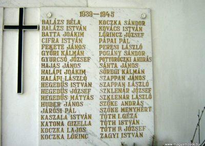 Mátraszőlős világháborús emlékmű 2009.05.08.küldő-Mónika39 (4)